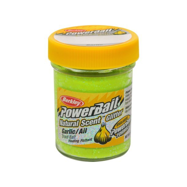 Berkley Powerbait Natural Scent Garlic Chartreuse