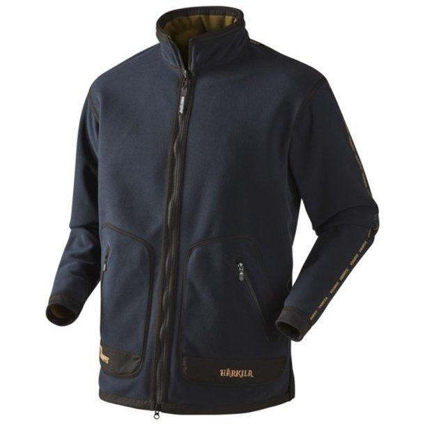 Härkila Kamko Sporting Fleece Jakke Dark Navy Blue/Highland Green