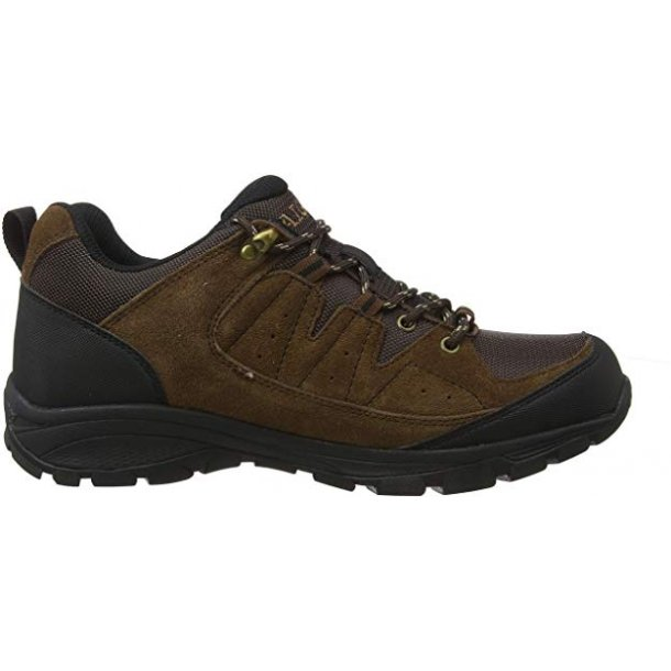 Aigle Vedur Low MTD sko Dark Brown